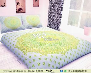 Wholesale Indian Print Bedspreads and Coverlets Twin Ombre Pattern-0