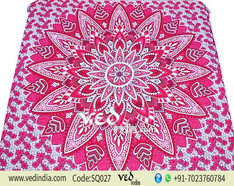 Hippy Mandala Bohemian Tapestry Ombre Queen and Double Size-0