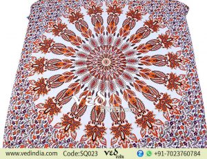 Queen Mandala Wall Hanging Tapestry Floral Bedspread -0