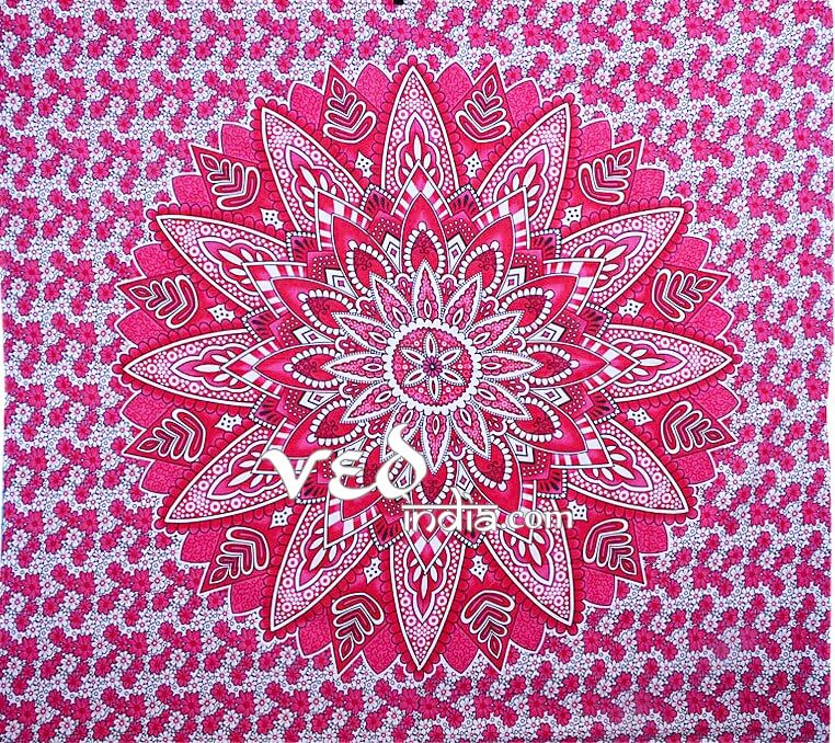 Hippy Mandala Bohemian Tapestry Ombre Queen and Double Size-3939