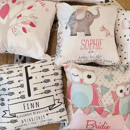 Personalised Kids Cushions, Pillows India