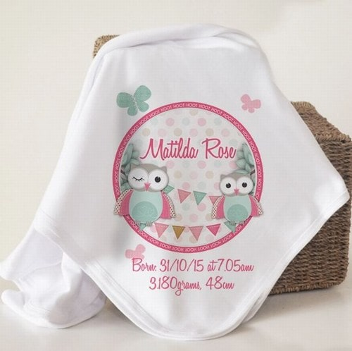 Kids Blankets Birthday Party Gift